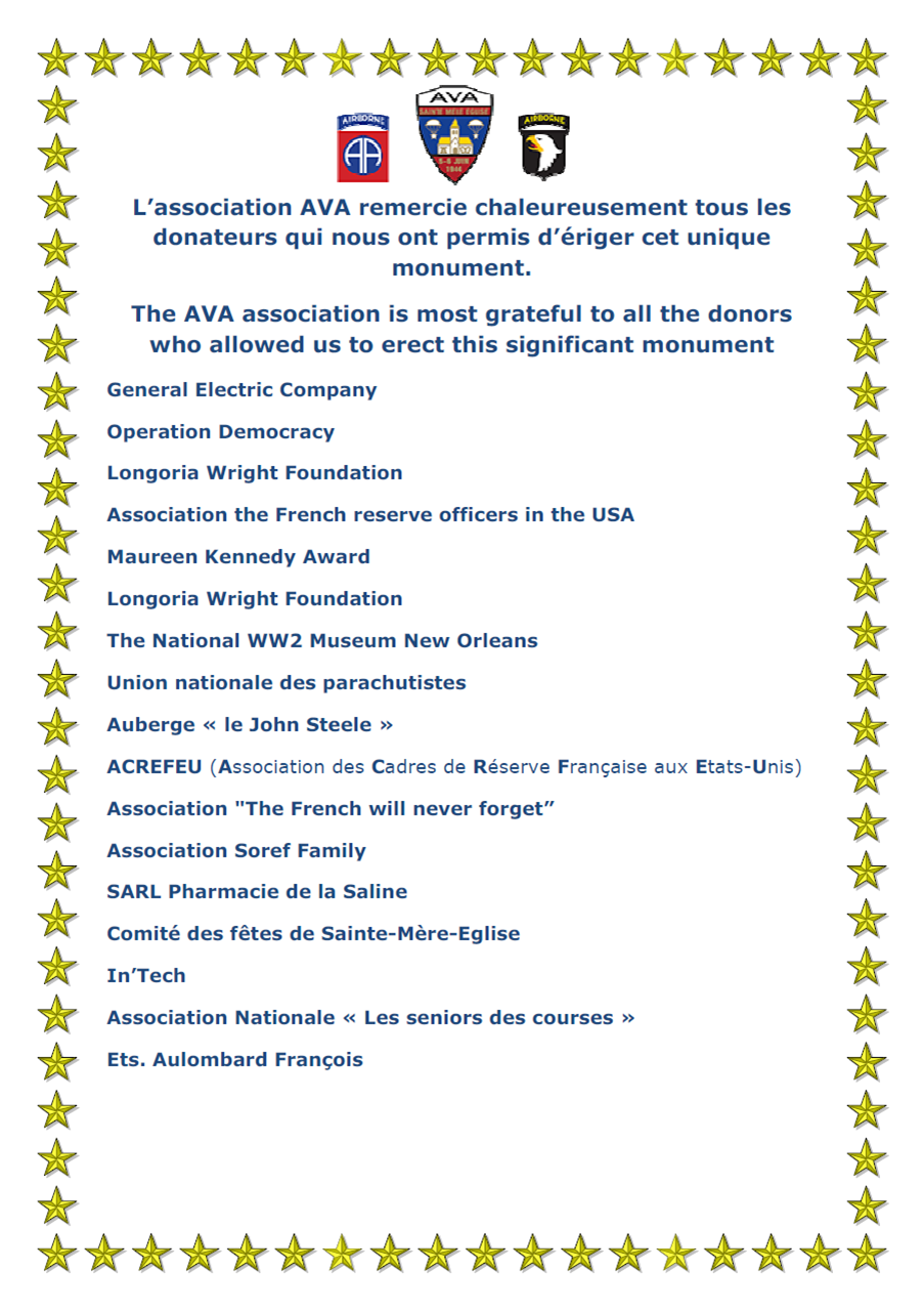 Donateurs MAJ 16-09-2014